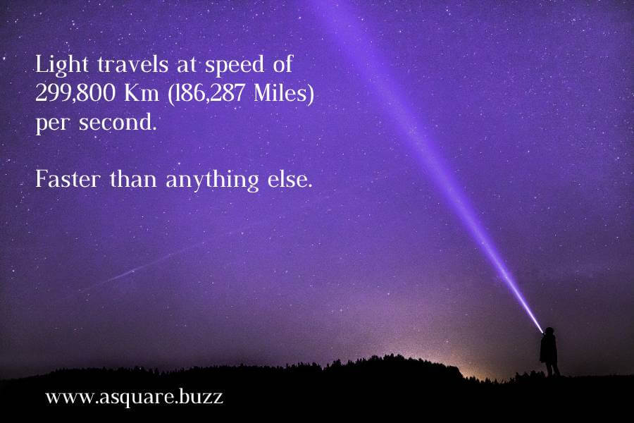 Speed of Light - The Universe